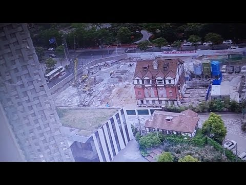 Watch: 98-year-old house moved in Shanghai's most complex renovation