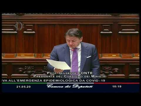 Informativa del Presidente Conte alla Camera