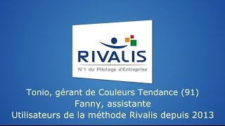 Témoignage clients Rivalis - Tonio et Fanny - Peintres décorateurs (91)