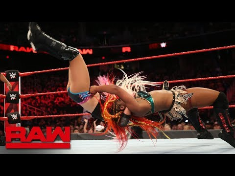 Ember Moon vs. Alexa Bliss: Raw, Aug. 13, 2018
