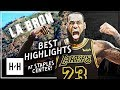 Download LeBron James BEST Highlights vs Los Angeles Lakers at Staples Center (2015-2018)