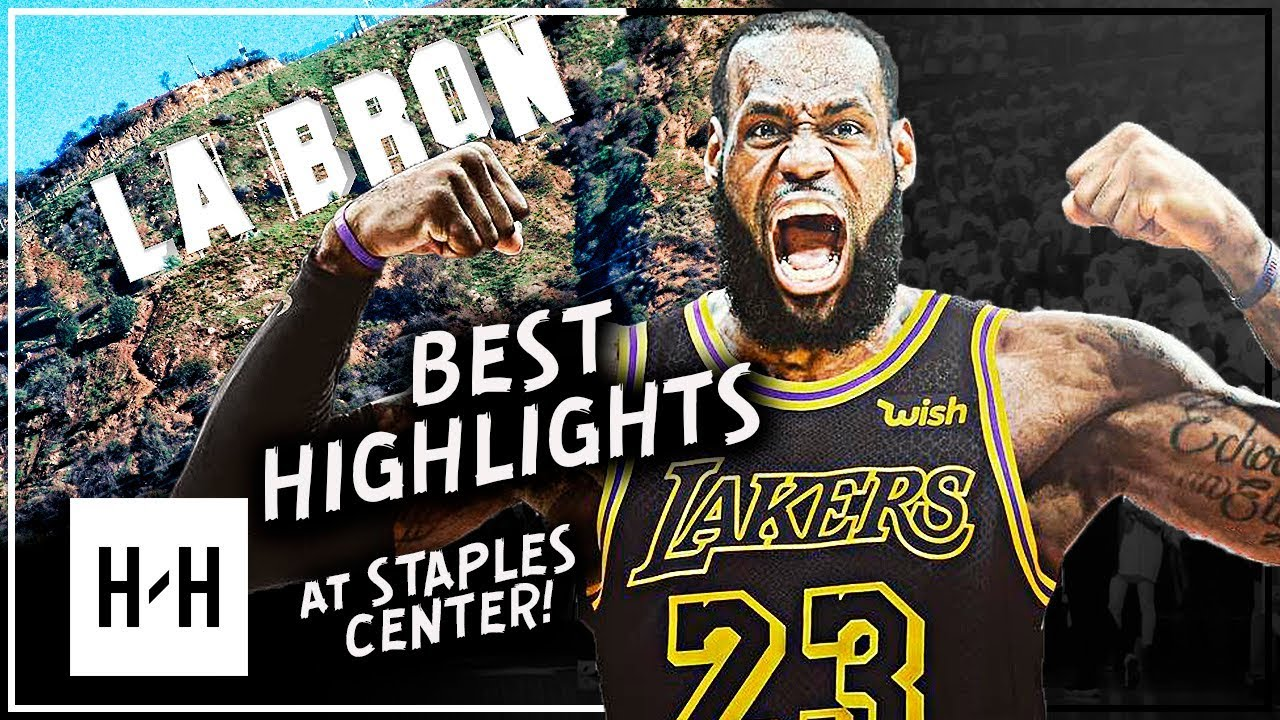 promo code 7b363 8220e LeBron James BEST Highlights vs Los Angeles Lakers at Staples Center  (2015-2018)