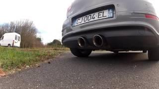 Golf MK5 R32 Milltek exhaust no resonated