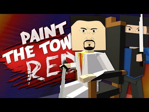 TOILET FACTORY NINJA - Best User Made Levels - Paint the Town Red