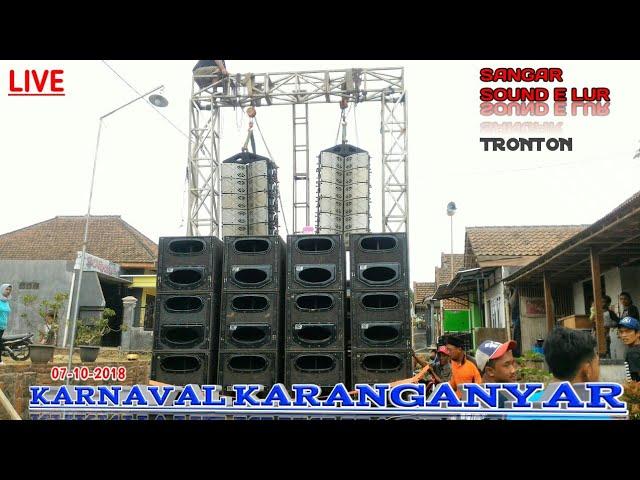 LOG SOUND KARNAVAL KARANGANYAR 7 OKTOBER 2018