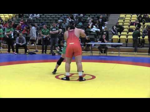 2016 Golden Bear Open 100 kg Ibrahim Elma vs Liam Graham
