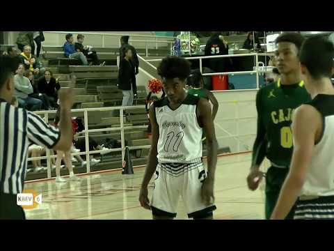BEVERLY HILLS VS. CAJON CIF PLAYOFF BASKETBALL GAME (2/20/18)
