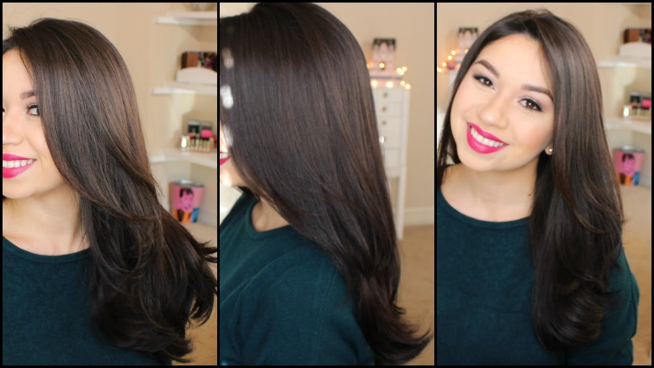 Blow Dry Hair Straight 5