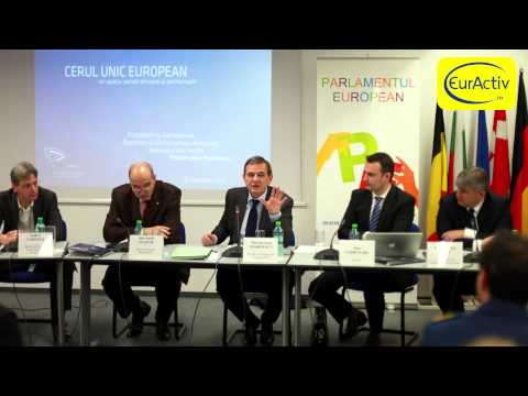 """""""The Single European Sky: an efficient and competitive airspace"""" - Euractiv - Part II"""