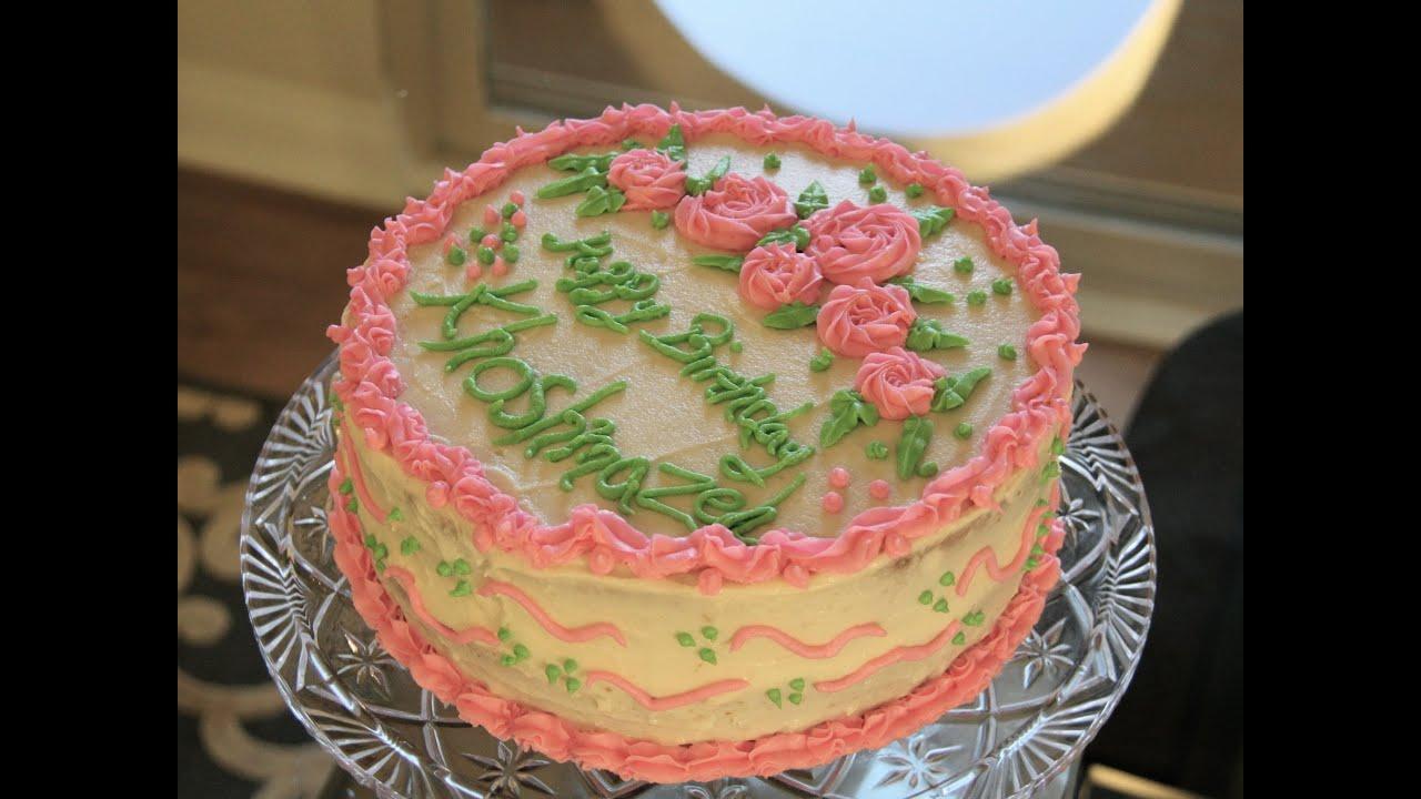 طرز درست ماکت کیک تولد کیک وانیلی Vanilla Cake Racer.lt