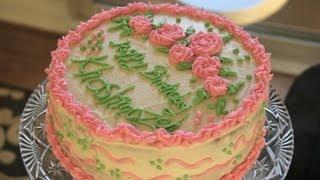 کیک وانیلی Vanilla Cake