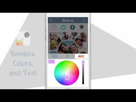 Mixgram - Collage Photo Editor & Selfie (iPhone & iPad)