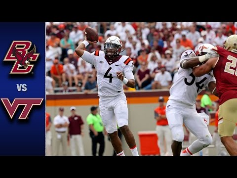 Boston College vs. Virginia Tech Football Highlights (2016)