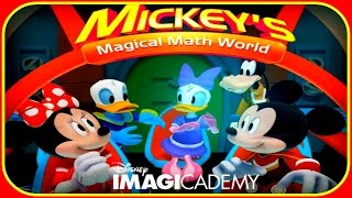 ♡ Disney Mickey Mouse Clubhouse Magical Maths World ♡ Educational Games App for Kids