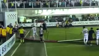 Melhores Momentos - Santos 2 x 2 Atlético-MG,  Brasileirão 17/10/2012