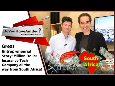 Great Entrepreneurial Story: Million Dollar Insurance Tech Company All The Way From South Africa!
