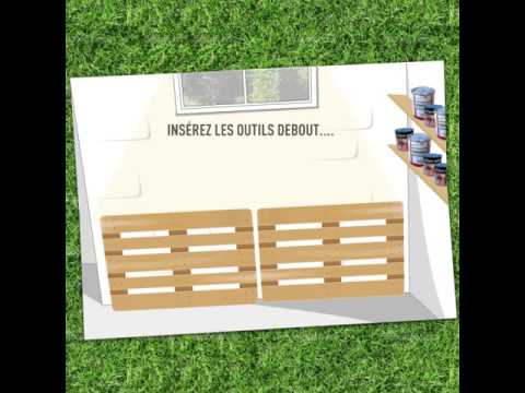 comment ranger ses outils de jardin youtube. Black Bedroom Furniture Sets. Home Design Ideas