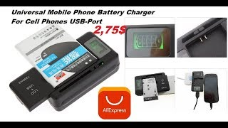 Universal Portable Mobile Cell Phone battery Charger for samsung huawei oppo Lg Archos Review 2018