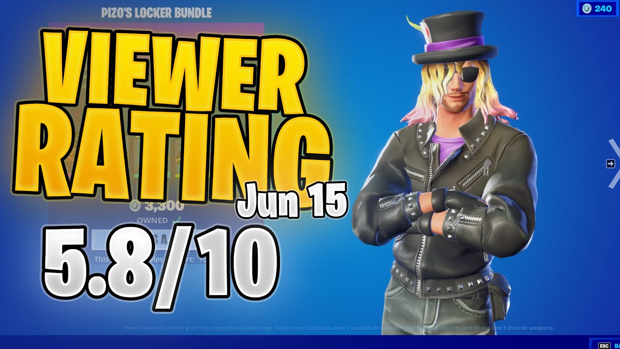 PIZO PACKAGE RETURNS!! | 15/6/21 Viewers Rate the Item Shop!!