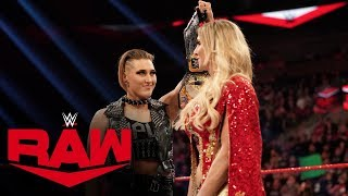 Rhea Ripley wants Charlotte Flair to pick her for WrestleMania: Raw, Feb. 3, 2020