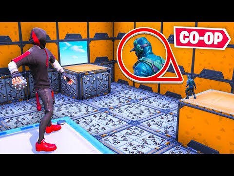 *NEW* CO-OP DEATHRUN In Fortnite!