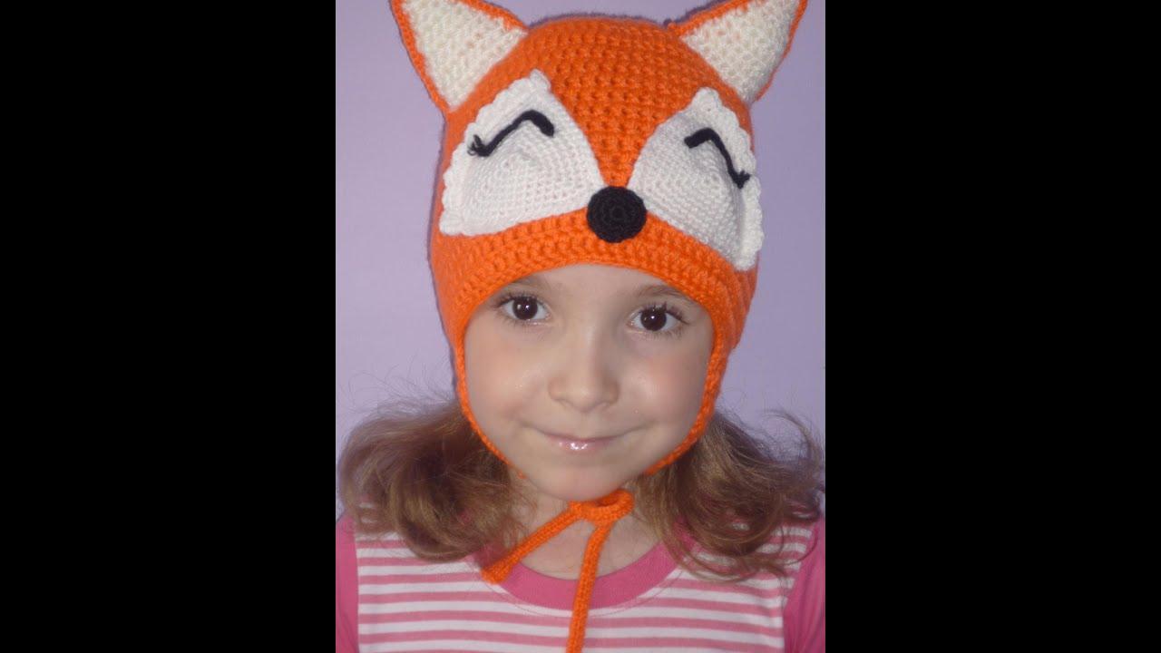 Забавные вязаные шапочки для девочек Детское вязание - YouTube