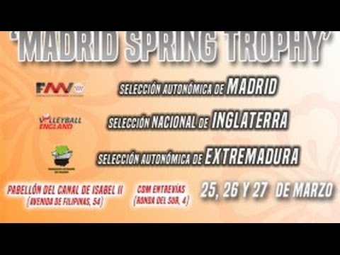 Madrid Spring Trophy U17 boys: England vs Extremadura