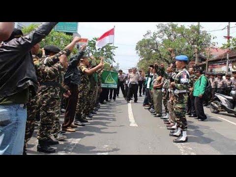 Banser Berani Razia TNI?