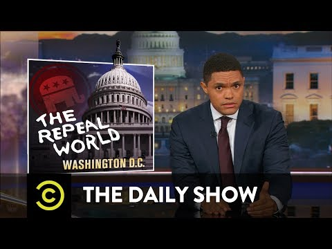 The GOP Brings the Dead Health Care Bill Back to Life: The Daily Show