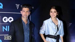 Hrithik Roshan and Anushka Sharma at GQ fashion