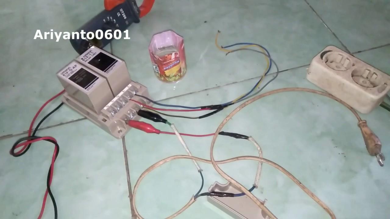 Omron 61f G Ap Sensor Air Pompa Celup