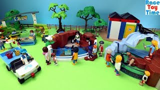Playmobil Zoo Penguins Playset - Fun Animals Toys For Kids