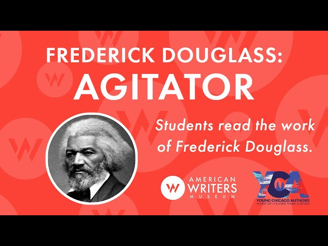 Students read Frederick Douglass