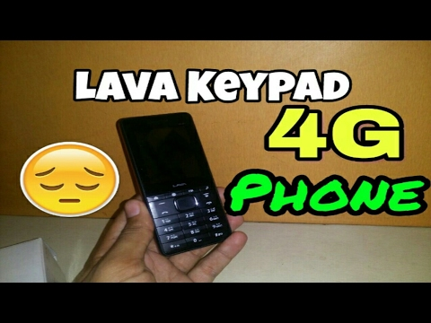 10e6d5d01dc Lava 4G CONNECT M1 first 4G Keypad Phone - YouTube