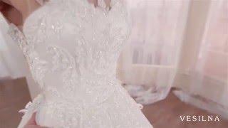 Свадебное платье 2016 года от VESILNA™ модель 3048