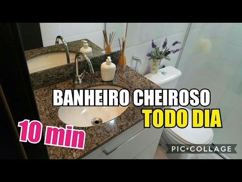 3 PASSOS PARA UM BANHEIRO LIMPO E CHEIROSO TODO DIA/Eide Oliveira