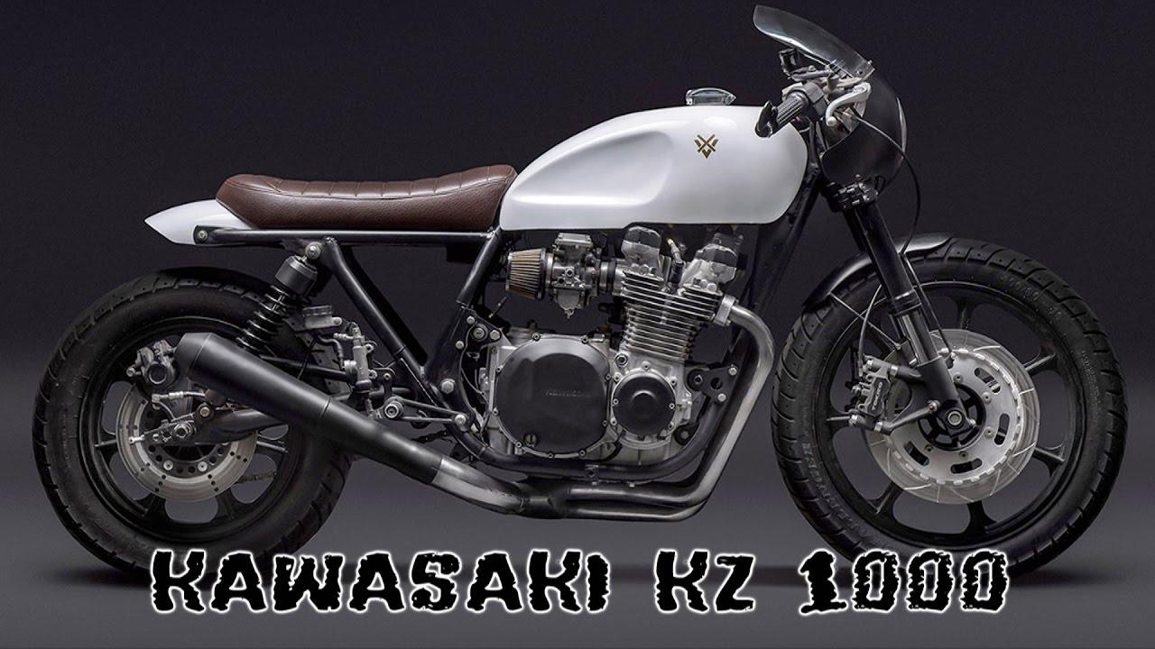 kawasaki kz 1000 ltd cafe racer - youtube