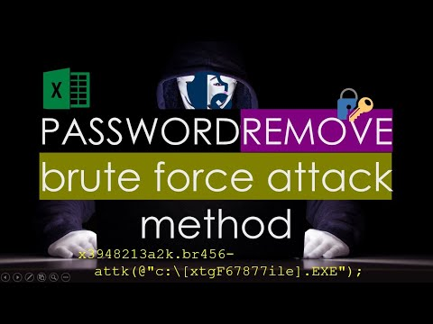 VBA to remove password from Excel  No Software 100% Working