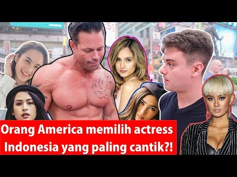 Americans Pick the Most Beautiful Indonesian Celebrity?!
