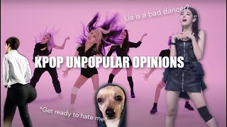 ACTUAL UNPOPULAR KPOP OPINIONS (probably offensive)