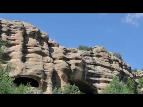 Visiting Gila Cliff Dwellings National Monument, the Catron County, New Mexico, United States