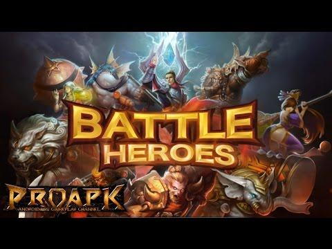 LINE Battle Heroes MOBA Gameplay IOS / Android