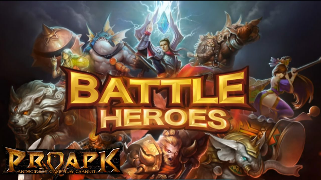 LINE Battle Heroes MOBA Gameplay IOS / Android - YouTube