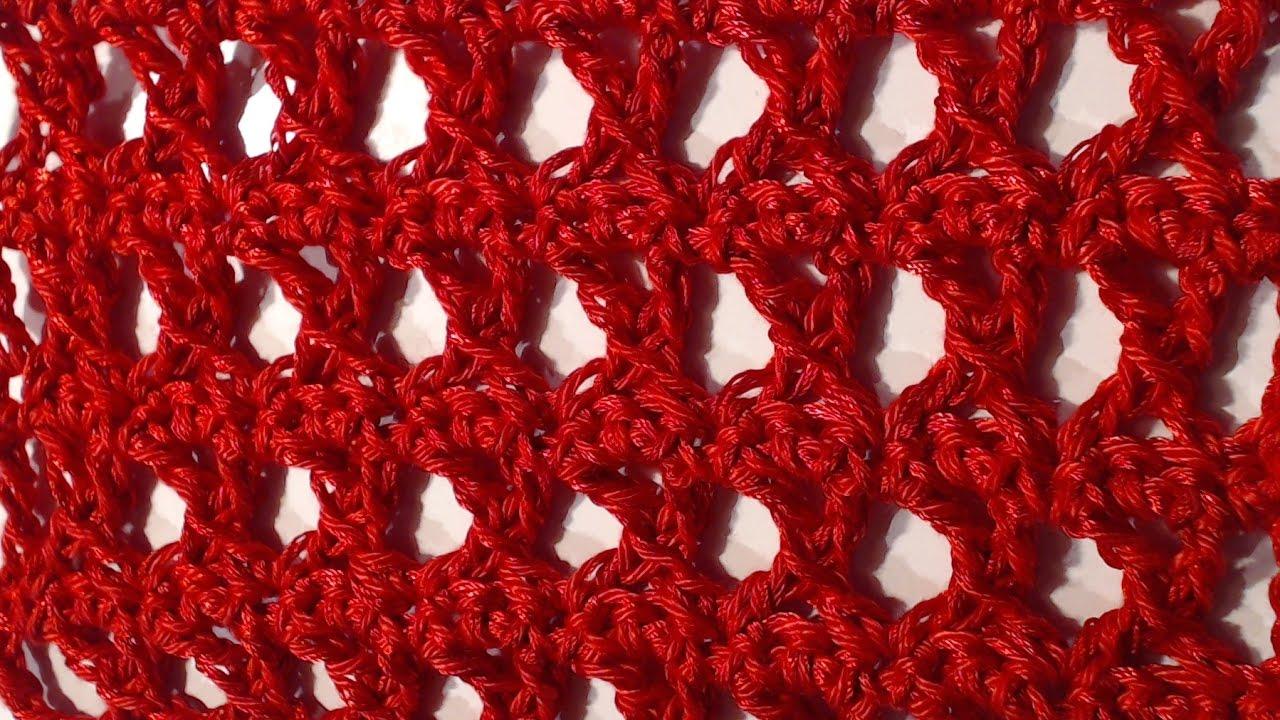Punto Crochet All Uncinetto.Tutorial N 1 Punto X All Uncinetto Crochet Youtube