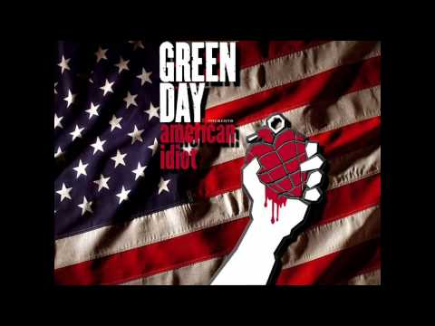 Green Day - American Idiot - She's a Rebel - HD (High Definition)