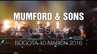 Mumford & Sons @ Bogotá  Estéreo Picnic 10 Mar 2016