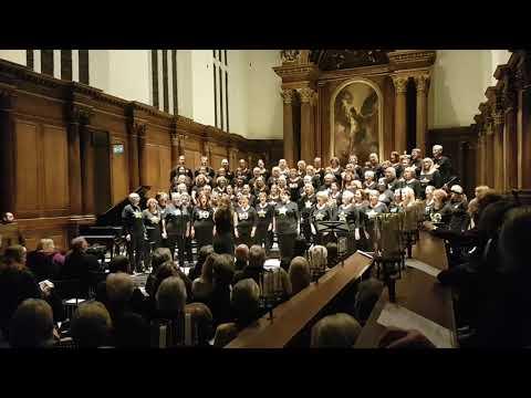 Budapest - Rock Choir 3rd December 2017 Trinity College