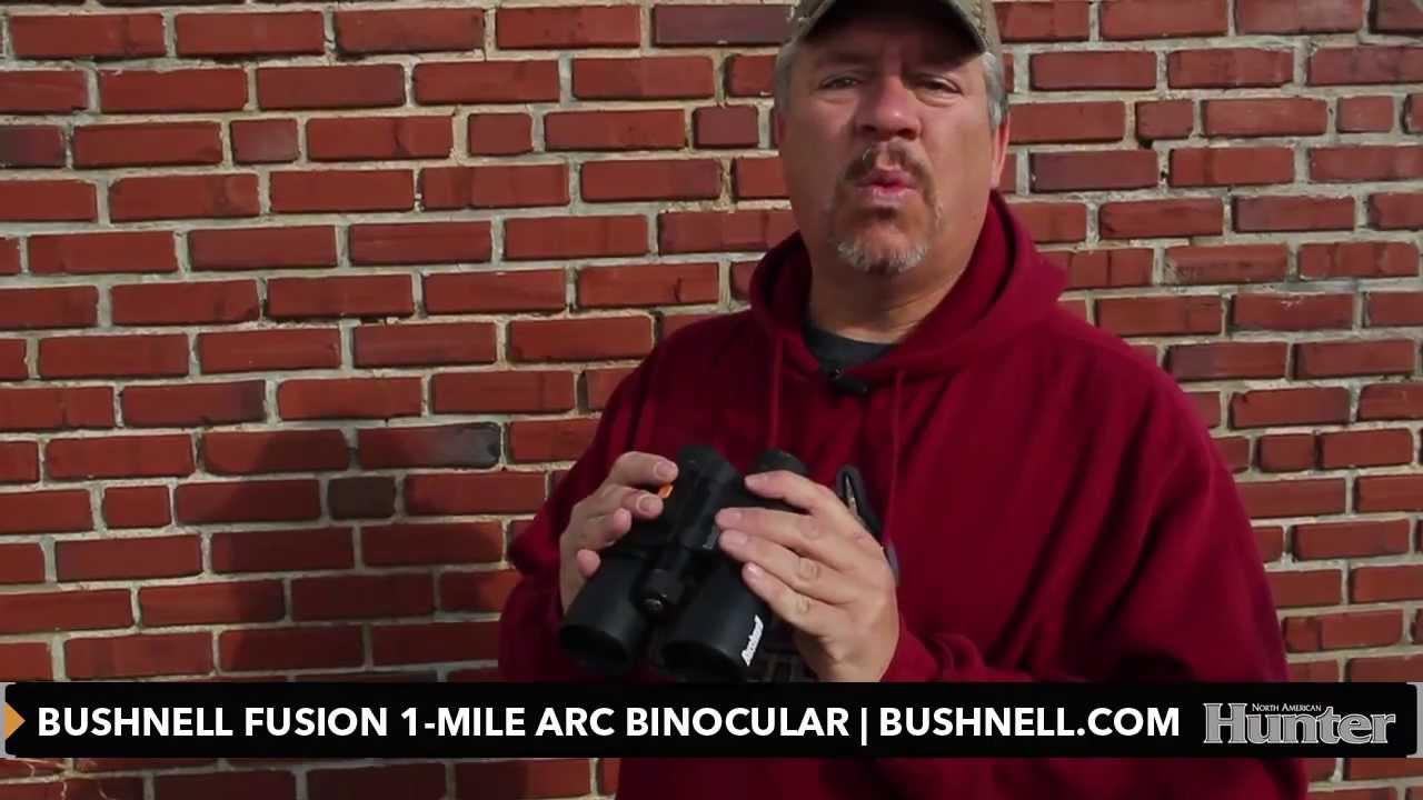 Bushnell Fernglas Mit Entfernungsmesser Fusion 1 Mile Arc 12x50 : Closer look bushnell fusion mile arc rangefinder binocular