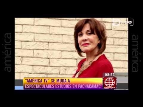 América TV  se muda a los estudios de Pachacámac