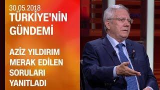 Aziz Yıldırım, CNN TÜRK'te soruları yanıtladı (tamamı) - Türkiye'nin Gündemi 30.05.2018 Çarşamba